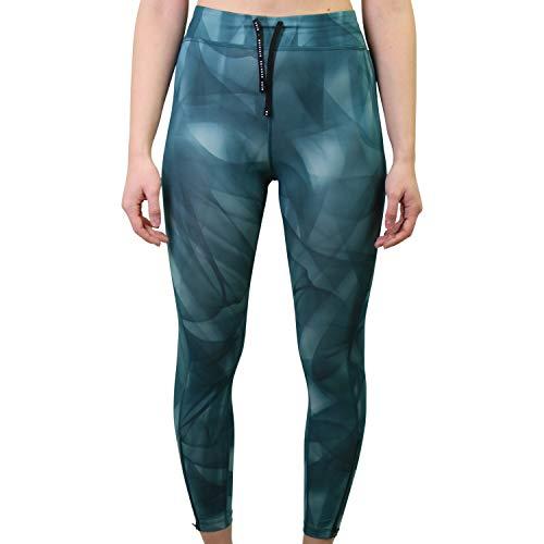 NIKE Pantalón para Mujer. Dark Teal Green/Reflective SIL XL