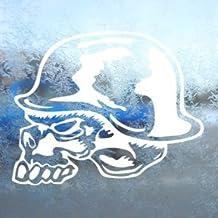 A//X 13 cm x 11 cm para Metal Mulisha Skull Helmet Logo OEM Etiquetas engomadas del Coche Vinilo JDM Bumper Trunk Truck Graphics Accesorios