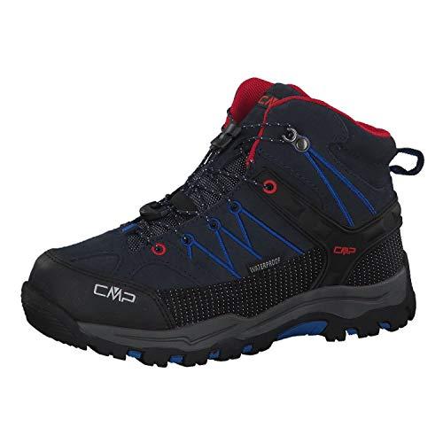 CMP Rigel Mid, Chaussures de Randonnée Hautes Garçon Mixte Enfant, Bleu (B.Blue-Royal 10nc), 30 EU