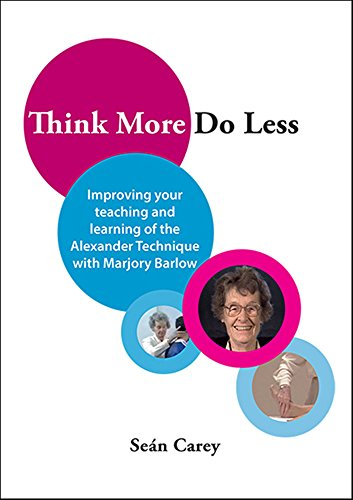 Think More, Do Less: Improving Your Teaching and Learning of the Alexander Technique with Marjory Barlow