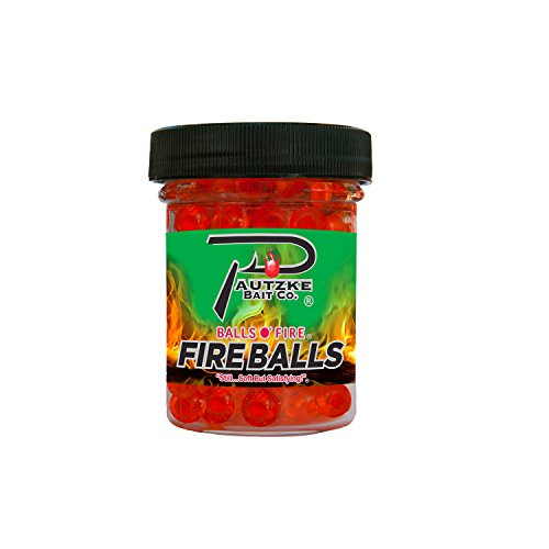 PAUTZKE'S Bait Fire Balls, Orange/Shrimp, 1.65 oz
