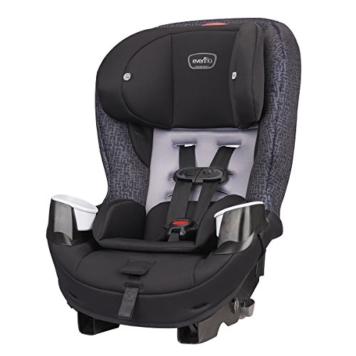 Best Price Evenflo Stratos 65 Convertible Car Seat, 2 Car Seats in 1, Forward / Rear Facing Car Seat...