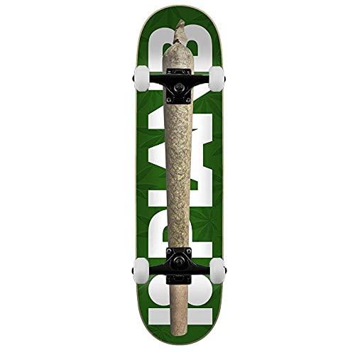 Plan B Spliff - Skateboard completo, 20,3 cm