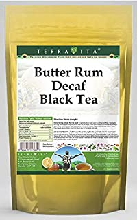 Butter Rum Decaf Black Tea (25 Tea Bags, ZIN: 534115)