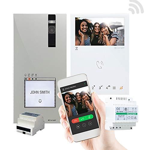 Comelit Kit Videoportero Quadra Manos Libres WiFi