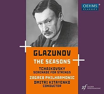 Glazunov: The Seasons, Op. 67 - Tchaikovsky: Serenade for Strings, Op. 48