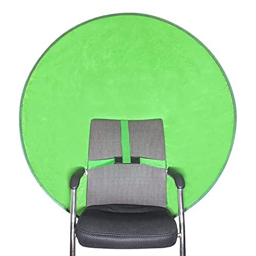 DILISHIOZ Doublesided Chroma Key, Green Screen Chair, Green Screen Photo, Background Non-Woven Fabric Green, Background Green Foldable, Green Screen Chair, Green Panel Background…