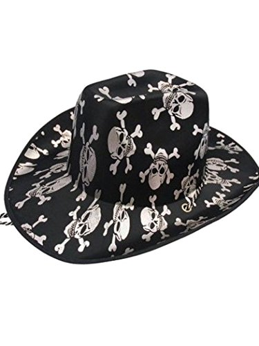 Armardi e Chapeau de cowboy avec têtes de mort