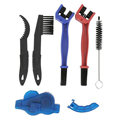Ueohitsct Kit de herramientas de limpieza de 6 piezas de ciclismo para bicicleta de montaña