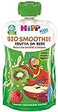 HiPP - Smoothies Bio, Gusto Mela, Uva, Kiwi E Lampone, 6 Confezioni Da 120 Ml - 720 g