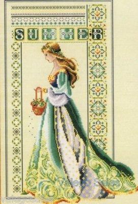 Celtic Summer Cross Stitch Pattern