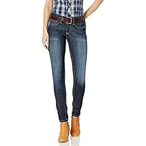 Ariat Women's  Mid Rise Skinny Jean