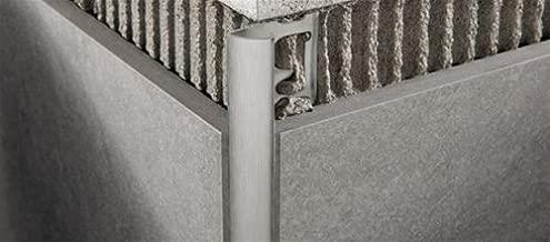 8 Profilo Jolly Alluminio Argento Satinato Mt.2,5 Mm