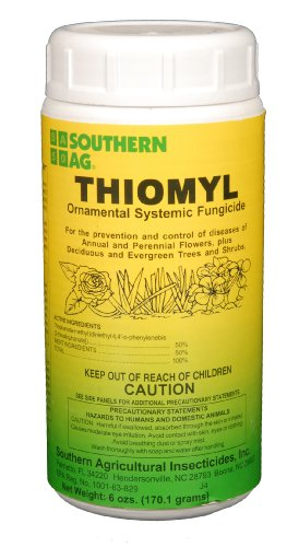 Southern Ag - Thiomyl - Ornamental Systemic Fungicide - 6oz