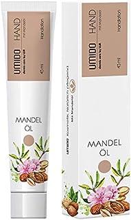 4 für 3 Aktion UMIDO Hand-Lotion Set 45 ml Mandelöl | 4 Stück zum Preis für 3 Stück | Handcreme | Pflegecreme | Lotion | Hautpflege | Handcreme Set