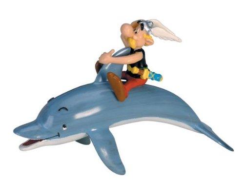 Plastoy 60552 - Figura de Asterix sobre delfín 1