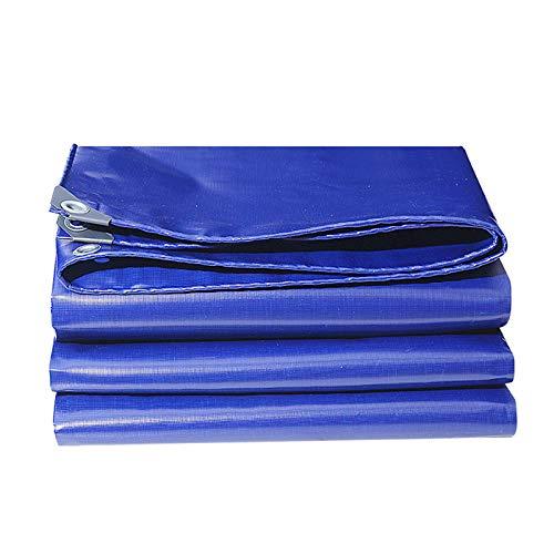 DGLIYJ- Abdeckplanen Cuchillo Engrosado Que Raspa La Lona, Lona Deslizante del Aislamiento Térmico del Parasol Impermeable Al Aire Libre (Azul Oscuro, 0,52 Mm De Espesor)(Size:3x6m)