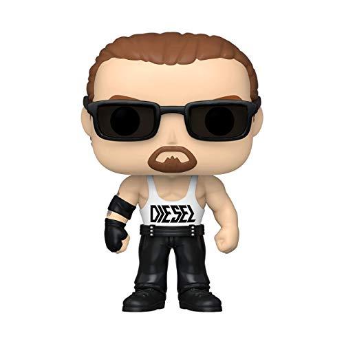 Funko- Pop WWE: Diesel w/Chase (Edición Especial) Figura coleccionable, Multicolor (46845) ,...