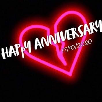 Happy Anniversary 17/10/2020
