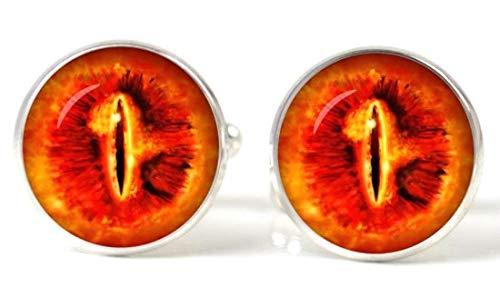 Gemelolandia   Gemelos Magglass Ojo de Sauron El Señor de los anillos Gemelos Originales Para Camisas   Para Hombres y Niños   Regalos Para Bodas, Comuniones, Bautizos y Otros Eventos