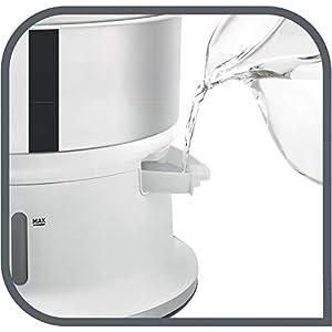 Tefal VC1451 Convenient Series Dampfgarer (Volumen: 6l, Timer, 2 Behälter, Wasserstandsanzeige) weiß/edelstahl