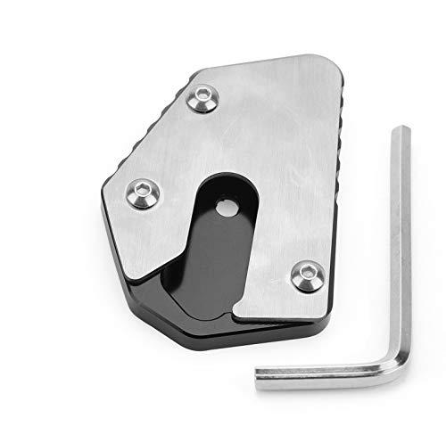 Areyourshop CNC - Soporte lateral para placa de extensión para Su-zu-ki DL650 V-STROM 650 12-19