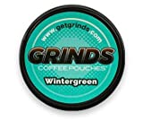 Grinds Coffee Pouches - 6 Cans - Wintergreen - Tobacco Free Healthy Alternative …