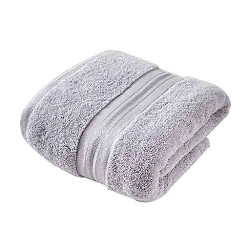 Nff Toallas De Baño, Algodón Engrosado, Súper Suave, Toallas De Baño Súper Grandes, Súper Absorbentes, Secado Rápido, Toallas Sin Restricciones 180x90cm (Color : Light Gray)