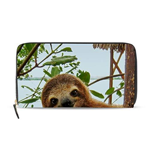 XiangHeFu portefeuille vrouwen portemonnee clutch tas rits luier op boom leer