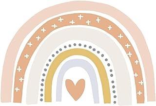 Yililay Muursticker Rainbow Muurtattoo Nursery Afneembare Art Sticker Slaapkamer Wandversiering Style1