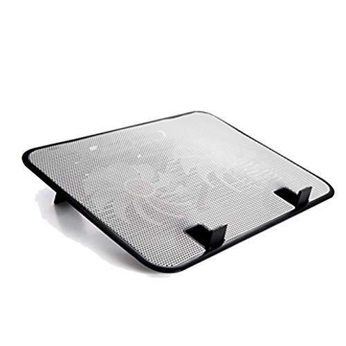 KJGHJ Soporte de refrigeración para portátil de 14 pulgadas, ventilador de refrigeración USB externo, soporte ultrafino, ventilador de panel de metal silencioso de alta velocidad (color 03)