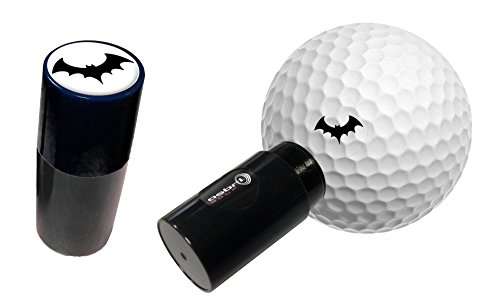 Asbri Mazza da Golf Ball Stamper–Nero