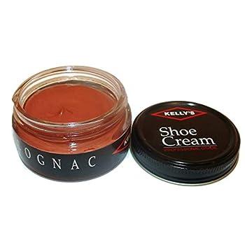Kelly s Shoe Cream - Professional Shoe Polish - 1.5 oz - Cognac