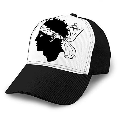 5 Unisex Style Strapback Hat Baseball Cap Flagge von Korsika Frankreich Golf Hats