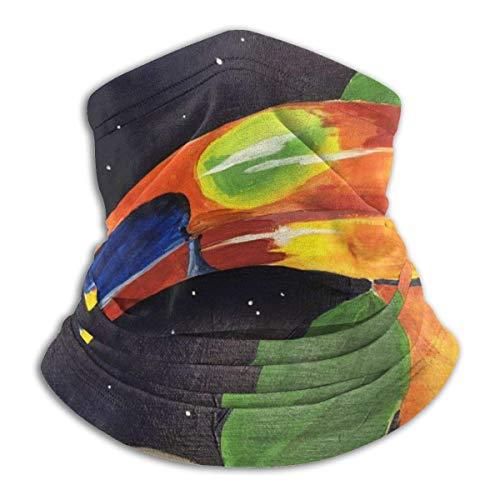 ZChun Ma-sk Microfiber Neck Warmer Face Ma-sk Neck Gaiter Comfortable Breathable Motion Keep Warm Bandana Balaclava Toucan Painting