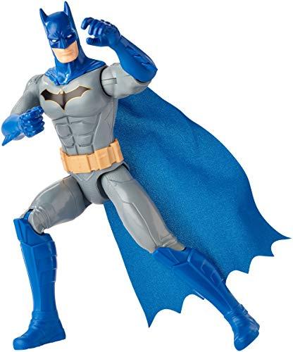 DC COMICS Batman Missions - Figura de acción de Detective Batman de 30cm, juguetes niños +4 años (Mattel GHL87)