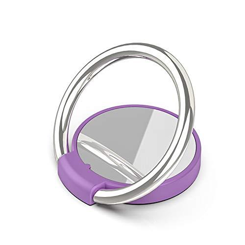 NAttnJf - Soporte Universal para iPhone XS MAX XR X 8/7/6/6 S Plus Samsung Galaxy S5/S6/S7/S8/S9 Nota 9 8 (rotación de 360 Grados)