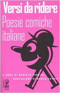 Versi da ridere. Poesie comiche italiane