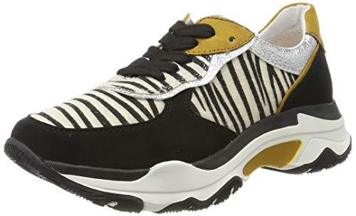 MARCO TOZZI Damen 2-2-23746-33 Sneaker, Schwarz (Black/Zebra 050), 38 EU