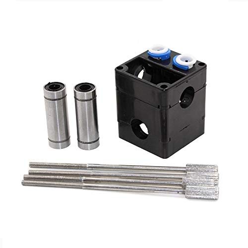 MANMANYU Extruder DIY kit HotEnd Dual Heads With LM6LUU For 1.75mm/3.0mm Filament UM2 Ultimaker 2 Printer Accessories (Size : 1.75mm)