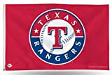 MLB Texas Rangers 3-Foot by 5-Foot Banner Flag