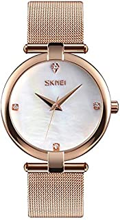 Skmei Dress Watch For Women Analog Stainless Steel - 9177W