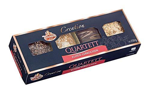 """Wicklein Creation \""""Quartet\"""" Elisen-Lebkuchen, 4-fach sortiert, 5er Pack (5 x 250 g)"""