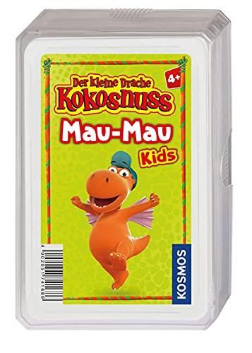 KOSMOS 741686 Der kleine Drache Kokosnuss- Mau-Mau Kids, Kartenspiel