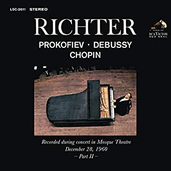 Sviatoslav Richter Plays Prokofiev, Debussy and Chopin - Live at Mosque Theatre (December 28, 1960)