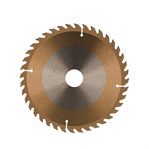 Hoja de sierra circular para corte de madera 190x30mm 20T 24T 40T TCT Disco de sierra para madera Plástico Acrílico Hoja de sierra para madera revestida con TiCN-190X30X20T