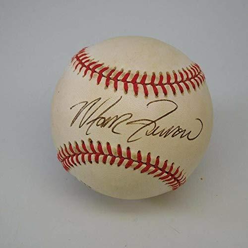 Marvin Freeman Phillies Signed ONL Bill White Baseball with B&E Hologram - Autographed Baseballs