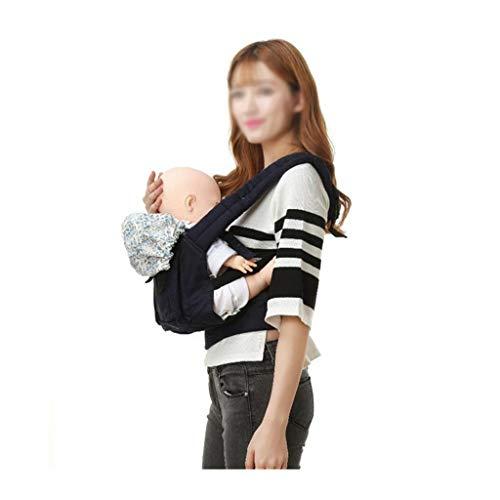 Réglable Ergonomique Porte-bébé Respirant Bébé Kangourou Sacs À Dos Poche Wrap Coton Nouveau-Né Portable Sling Sac (Color : B)