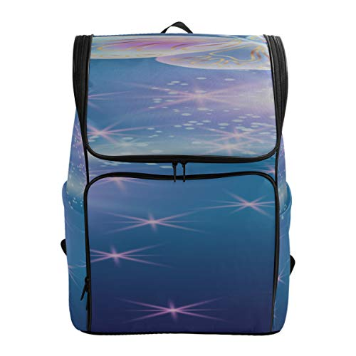 Butterflies With Glowing Firework And Sparkle Stars Bags For Travel Art Hiking Bags Casual Travel Bag Best College Bags Fits 15.6 Inch Laptop And Notebook Messenger Bag For School Casual Bags For Sc