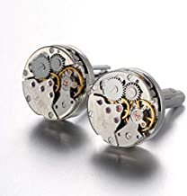 Retro Mechanical Watch Movements Shape Cufflinks Personalized Fashion Mens Shirt Cufflinks B854